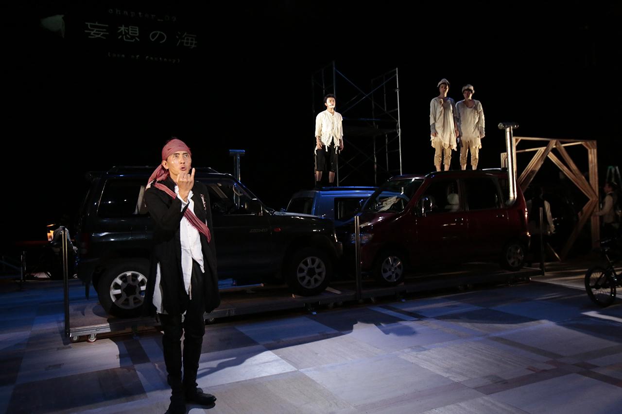 0737 「小指の思い出」 舞台稽古 東京芸術劇場 2014年9月27日撮