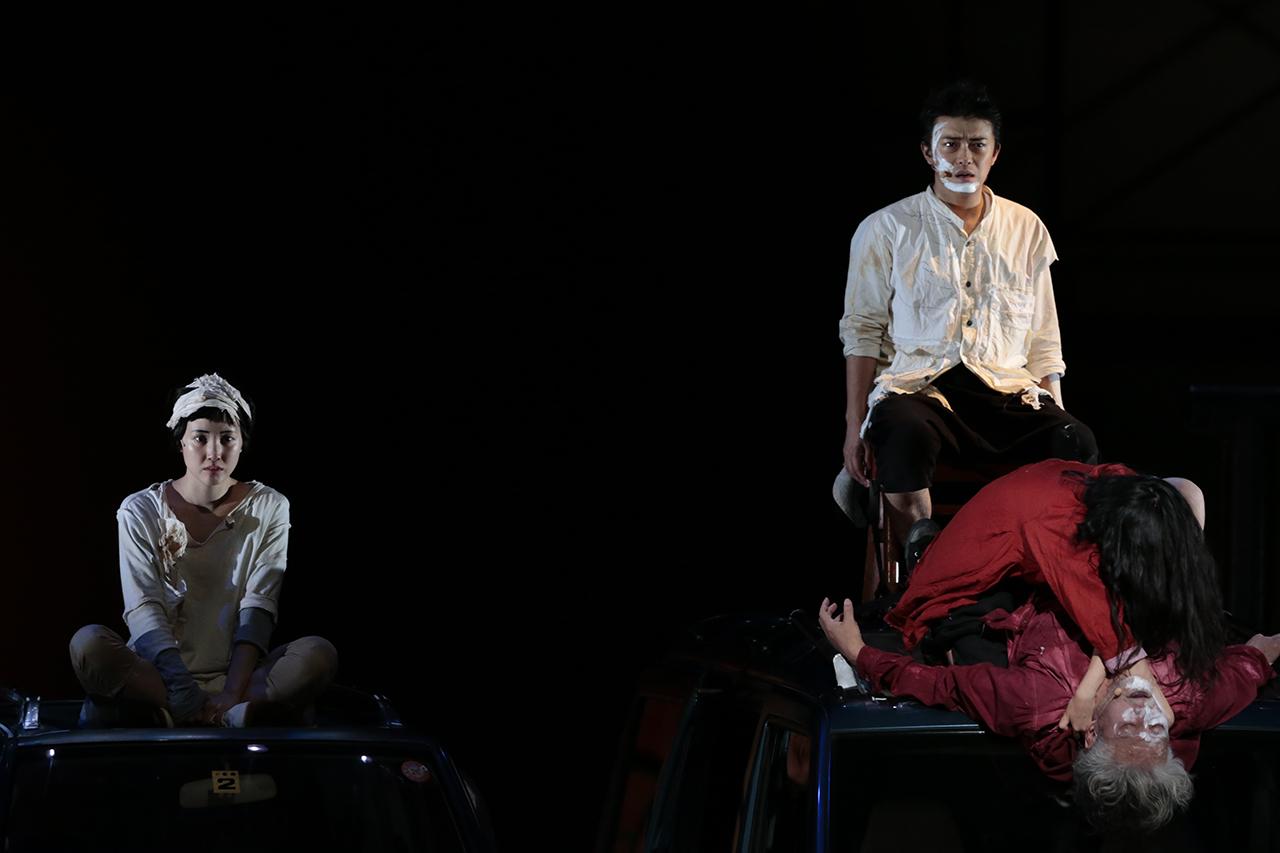 0560 「小指の思い出」 舞台稽古 東京芸術劇場 2014年9月27日撮