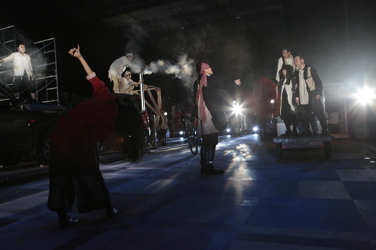 0863 「小指の思い出」 舞台稽古 東京芸術劇場 2014年9月27日撮